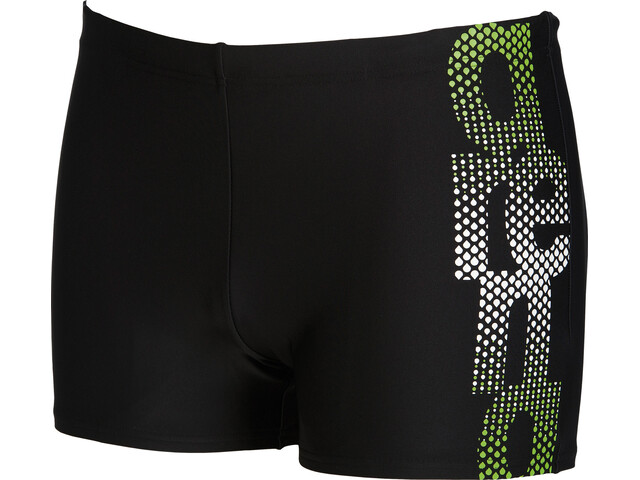 arena Tex Swim Shorts Men black-leaf